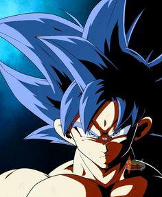 Goku Ultra Instinct Mastered, Dragon Ball Super Manga Art, Anime Art, Goku Drawing, Goku Wallpaper, Anime Store, Anime Expo, Dragon Ball Gt, Art Images, Epic Characters