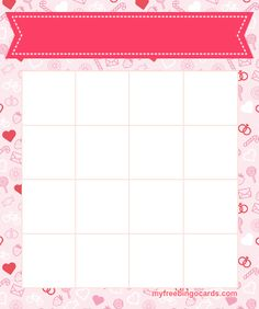 Check out our selection of free Bingo Card Templates. All bingo cards can be printed or sent out individually to play virtual bingo. You can customize the title, content and theme of all these bingo cards. Free Printable Bingo Cards, Bingo Card Template, Free Printables, Card Templates, Friend Bingo, English Teaching Materials, Reading Task Cards, Photo Collage Template, Bingo Board