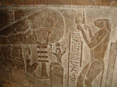"Dendera-Carving ""SASER and Hypersound Technology"""