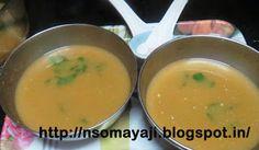 ಅಡಿಗೆ (Adige): Spicy Peas -Tomato Soup