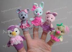 Finger Puppets/Пальчиковые игрушки