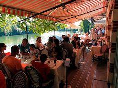 Restaurante que Renoir frequentava em Paris.
