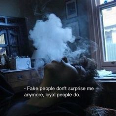 grunge, quote, and smoke image More