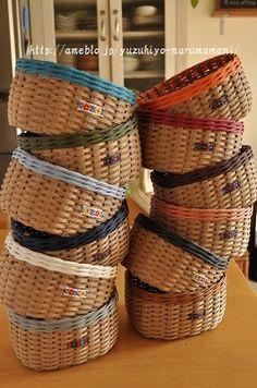 Rattan, Wicker, Birch Bark Crafts, Handicraft, Diy And Crafts, Weaving, Deco, Handmade, Eco Craft