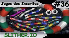 JOGOS DOS INSCRITOS - SLITHER.IO - #36