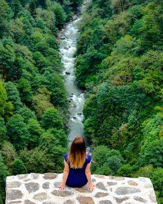 View from Zil Kale (Zil Castle) - Camlihemsin,Rize  (Eastern Black Sea Region of Turkey)  // Photo by @_nuryuksel_  #Turkey #camlihemsin #rize #turkey