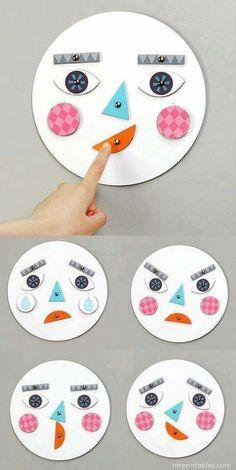 Facial expressions crafts