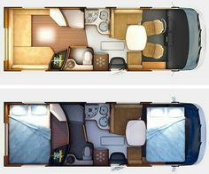 The Rapido offers a layout apart from many motorhomes that we are used to . Camper Life, Truck Camper, Camper Trailers, Camper Van, Bus Life, Sprinter Van Conversion, Camper Conversion, Mini Van, Kombi Motorhome