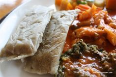 Whats cooking in our islands kitchen Good Friday Dish Antigua and Barbuda - Ducana and Saltfish with chop-up