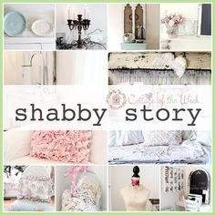 Cottage of the Week starring Shabby Story.  A beautiful house tour filled with Cottage and Shabby style! ENJOY!