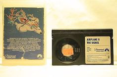 Betamax Movies - Airplane 2 The Sequel - Comedy