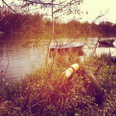 At the river Isar
