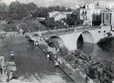 Murcia, Roots, Antique, Black, Old Bridges, 19th Century, Antique Photos, Cities, Antiques
