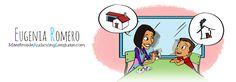 logo Spanish Games, Spanish Class, Spanish Website, Task Boxes, Speech Therapy Activities, Family Guy, Author, Teaching, Comics