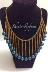 DIY's (Do It Yourself) : Another fringe necklace DIY