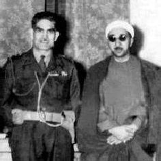 صورة نادرة للشيخ الدكتور احمد الوائلي مع الزعيم عبد الكريم قاسم ( رحمهم الله )