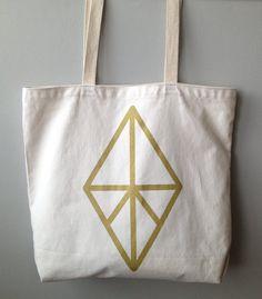 Diamond Tote Bag- Re