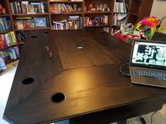 DIY Home Decorations Blog  Operation Awesome construct the gaming table Ive been talking about for over 2 years.  http://ift.tt/2nYyDrr