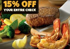 OUTBACK STEAKHOUSE $$ Reminder: Coupon to Save 15% off Your Entire Check – Expires TODAY (11/20)!