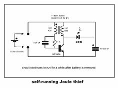 Simple Electronic Circuits, Joule Thief, Earthing Grounding, Power Supply Circuit, Alternative Energy Sources, Circuit Projects, Circuit Diagram, High Voltage, Electrical Engineering
