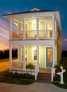 Coastal beach home idea