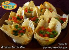 Breakfast Burrito Bites