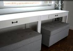 Image result for how to build ottoman with storage