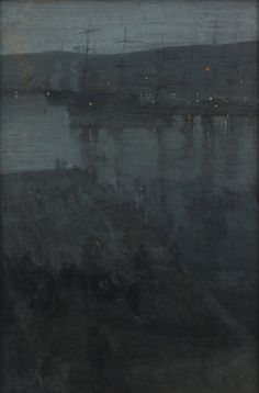 james mcneill whistler nocturne - Google Search