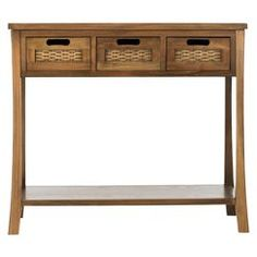Safavieh Cartagena Console Table - Brown - out of stock