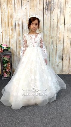 Long Sleeve Wedding Dress Boho, Wedding Dresses, Candy Dress, Baptism Dress, Birthday Dresses, French Lace, Tulle Dress, Sewing Clothes, Floral Lace