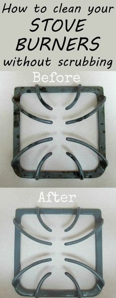 How To Clean Your Stove Burners Without Scrubbing