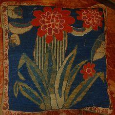 Needlepoint Cushion from Hunza © Sharon Lundahl
