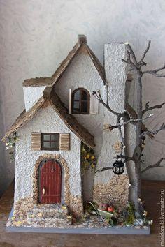 Кукольный дом ручной работы. Заказать Домик лесного жителя. Ксения Сетявина. Другой мир.. Ярмарка Мастеров. Кукольный домик