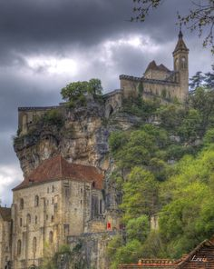 Rocamadour Rocamadour France, Le Lot, Hdr, Belle Photo, Europe, Mansions, House Styles, Building, Travel