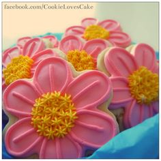 flower cookies | Cookie Connection