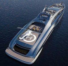 #yacht #helipad