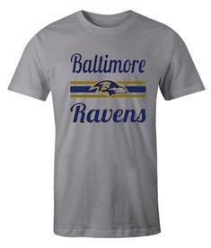 Baltimore Ravens Grey impressive T Shirt Baltimore Ravens, Comfortable Outfits, Direct To Garment Printer, Types Of Shirts, Grey, Mens Tops, T Shirt, Clothes, Fashion