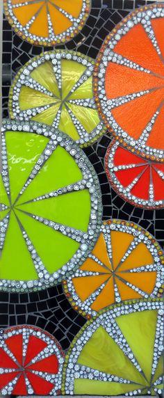 Carol Hill Mosaic Artist ~  Adelaide SA Australia    citrus