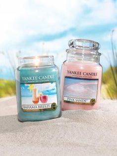 bahama breeze and pink sands,my favorite candals to burn