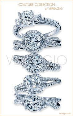 Couture Collection by Verragio: Engagement rings unlike any other.