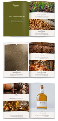 editorial brochure layout and design / Stauning whisky by Kasper Skov  #magazine #layout #brochure
