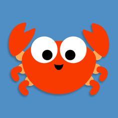 printable crab mask