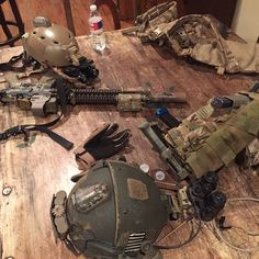 """""""Good morning gearwhores! Enjoy @core_survival #helstar6 @ssprecision #maxmount #rfm3v #magthingy #itsTactical #igmilitia #CRYEordie #mrb"""""""