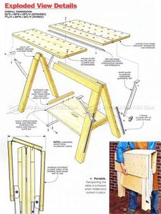 WoodArchivist is a Woodworking resource site which focuses on Woodworking Projects, Plans, Tips, Jigs, Tools Home Projects, Projects To Try, Garage Organization, Organization Ideas, Wood Plans, Table Plans, Joinery, Woodworking Projects, Workbenches