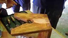 Обзор маленькой табуретки деревянной изготовленной вручную своими руками...