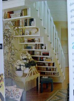 Under-stair storage!