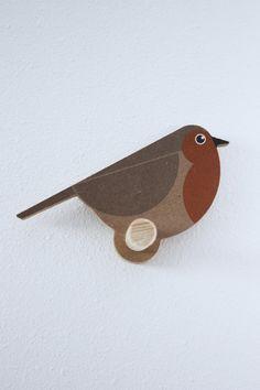 Robin coat hanger