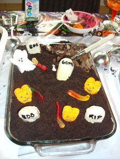 Chocolate Pudding Graveyard