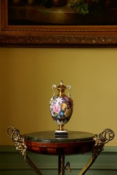 The Repton Artistry Vase | Hand Painted