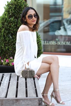 896070980b How to wear white for spring and after labor day Celebrity Outfits